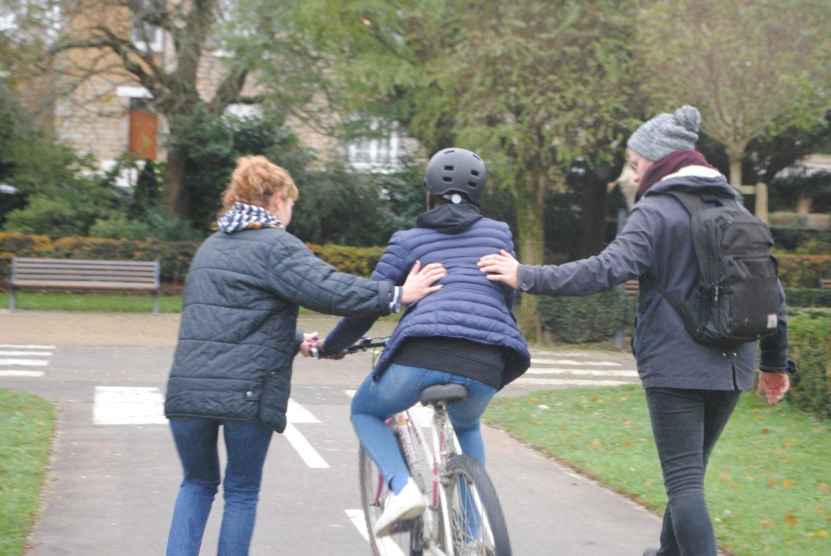 Une première à vélo