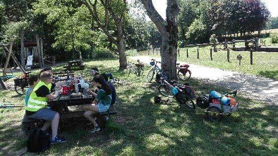 Vélo autour du Val d'ille Aubigné