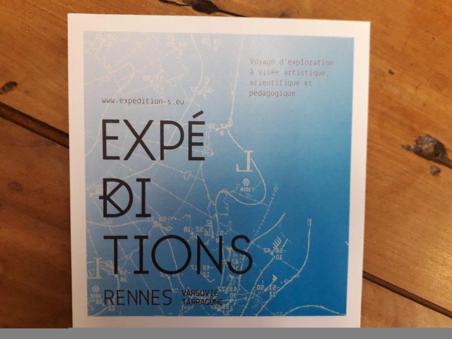 EXPÉDITIONS. Voyage d'exploration à visée artistique, scientifique et pédagogique.